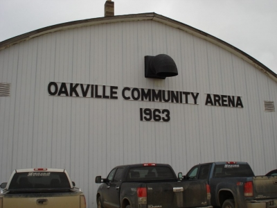 Oakville Community Arena Close-up