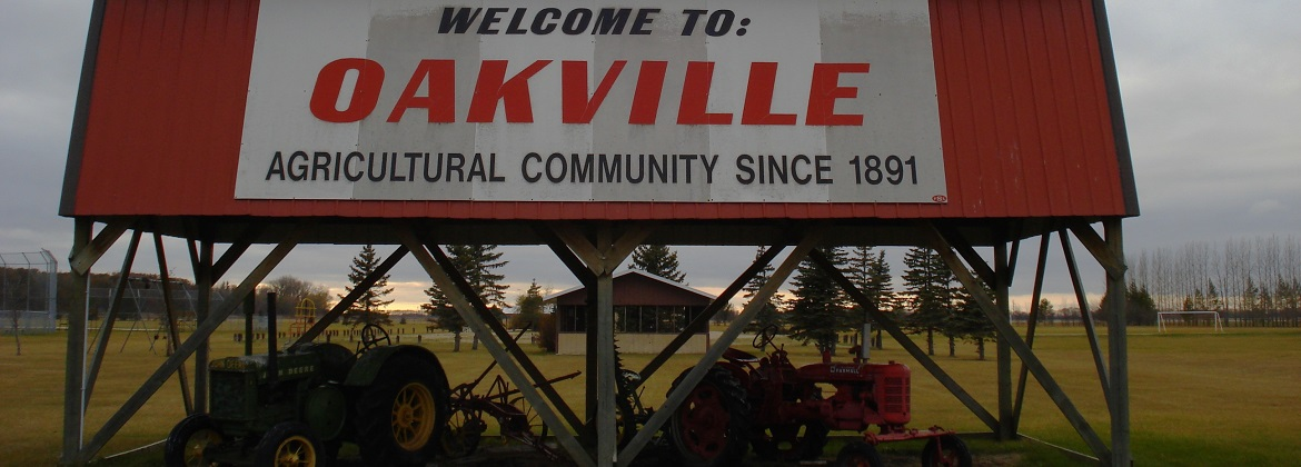 Welcome to Oakville, Manitoba