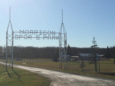 Morrison Sports Park Sign
