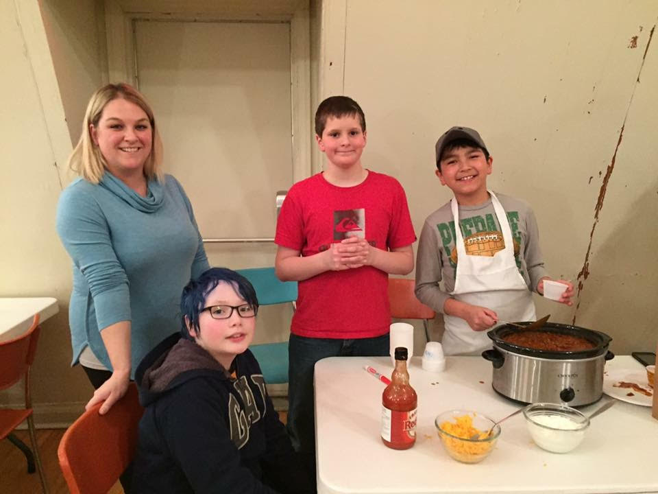 Winterfest 2017 Chili Cook Off's Younger Contestants