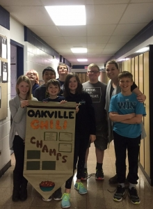 Oakville School's Grade 5 class are the Winterfest 2017 Chili Cook-off Champs