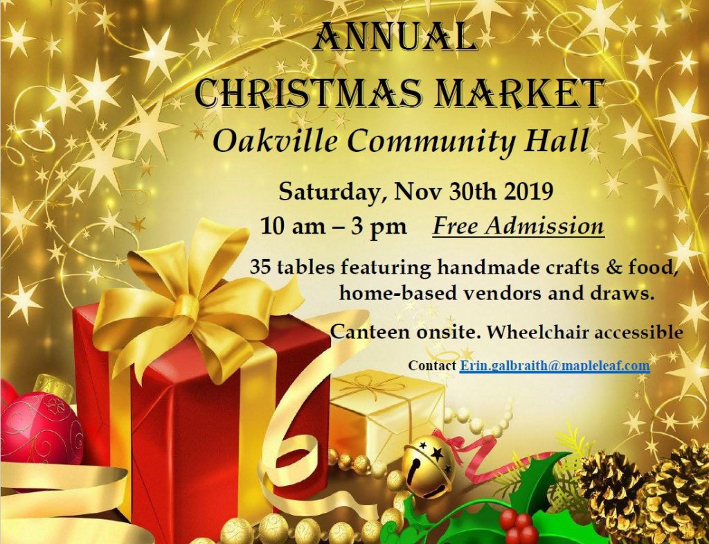 Christmas Market 2019 flyer