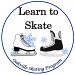 The logo for the Oakville Skating Program learn to skate