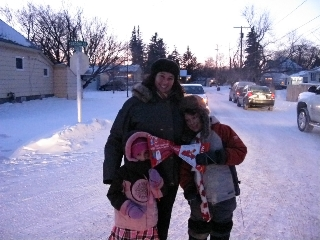 2010 Olympic Torch Relay, St. Lawrence family
